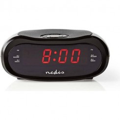 "Nedis Clockradio med vækkeur0,6"" LED"