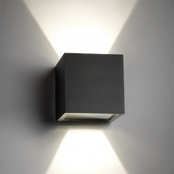 Light Point Cube LED Black