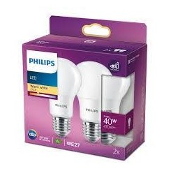 Philips LED pære 5,5W 470 lumen