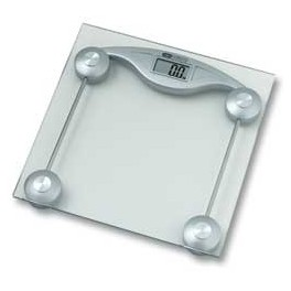 OBH Glass scale personvægt - 6256